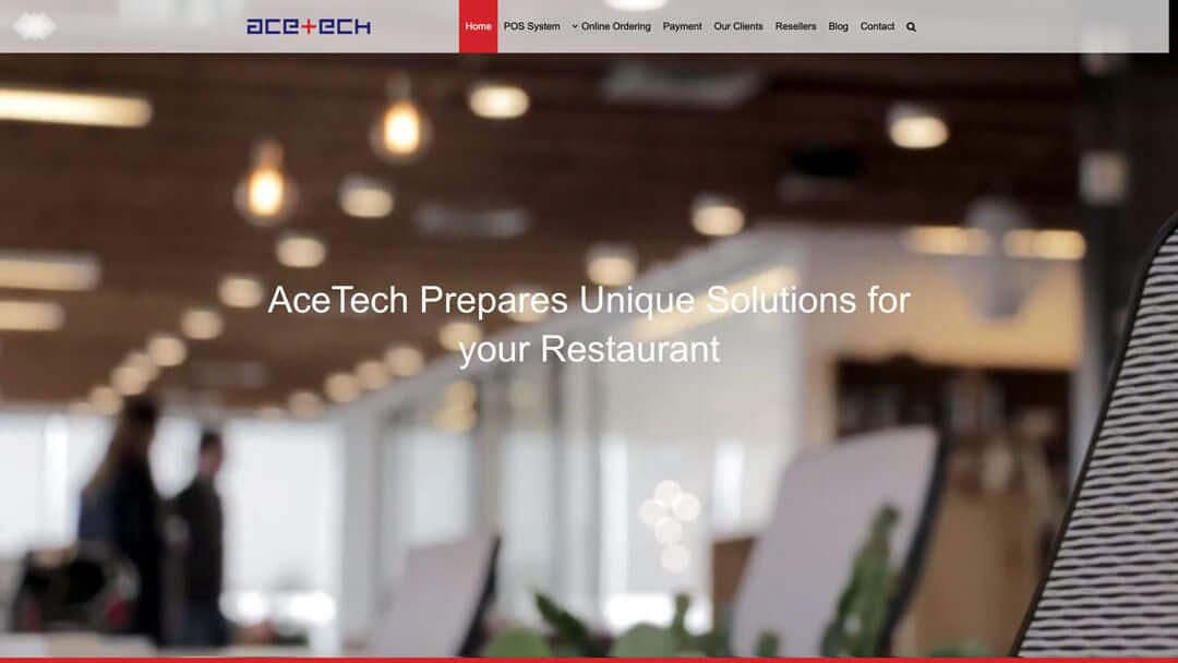 ACE Tech Website Design