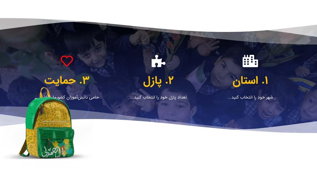 Puzzle Hamdeli Charity Website