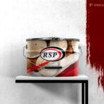 RSP Paint Bucket Label Design